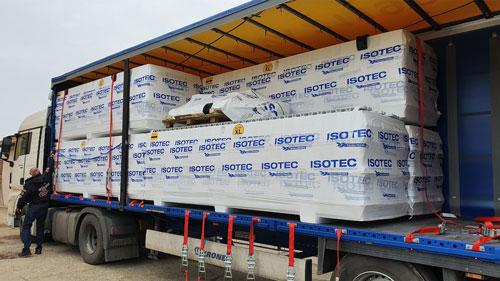 Komplett ISOTEC hőszigetelő rendszer házhozszállítását vállaljuk